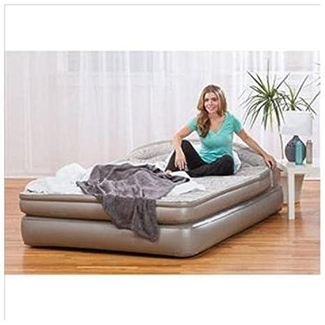 Aerobed Comfort cualquier lugar 18 diseño de colchón con cabecero ...