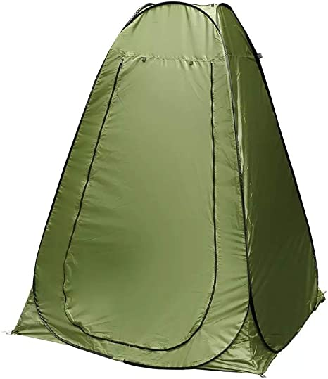 Portable Pop Up Changing Tent Outdoor Camping Shower Tent Camp Toilet Roomy Privacy Tent Instant Dressing Room Rain Shelter Easy Up Lightweight but
