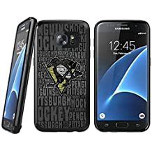 Samsung Galaxy S6 TPU Case, Unique Samsung Galaxy S6 Case for Pittsburgh Penguins team Fans