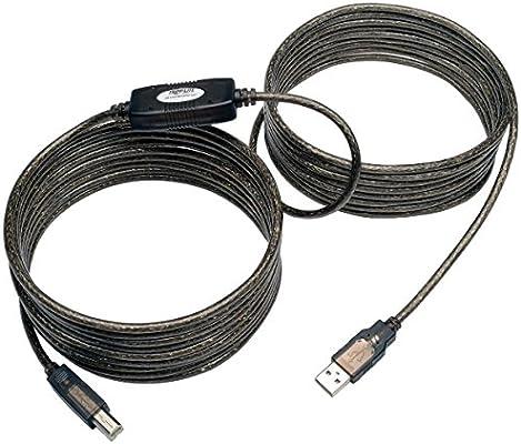 Tripp Lite Cable Repetidor Activo USB 2.0 de Alta Velocidad A/B (M ...