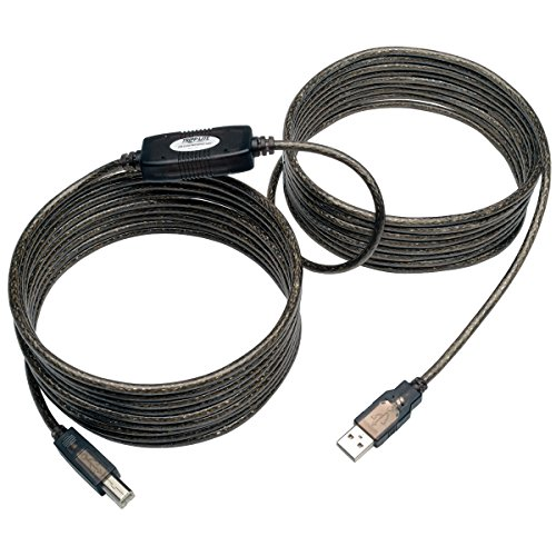 Tripp Lite USB 2.0 Hi-Speed A/B Active Repeater Cable (M/M) 25-ft. (U042-025) ()