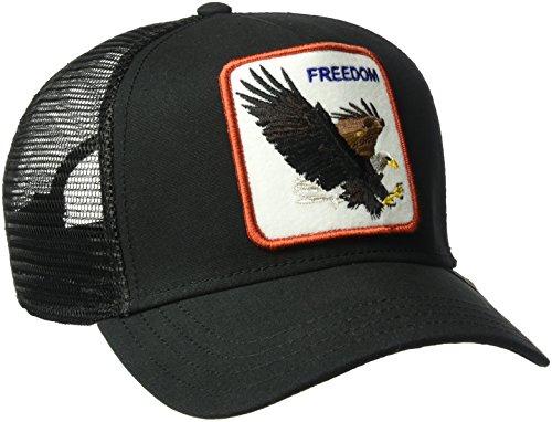 Goorin Bros. Men's Animal Farm Snap Back Trucker Hat, Black Eagle, One - Trucker Mesh