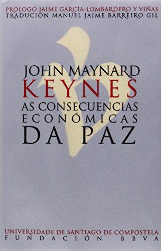 Descargar Libro As Consecuencias Económicas Da Paz John Maynard Keynes