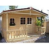 Gartenhaus Holzhaus Blockhaus Gartenausstattung Nicoleta von Jet-Line Haus