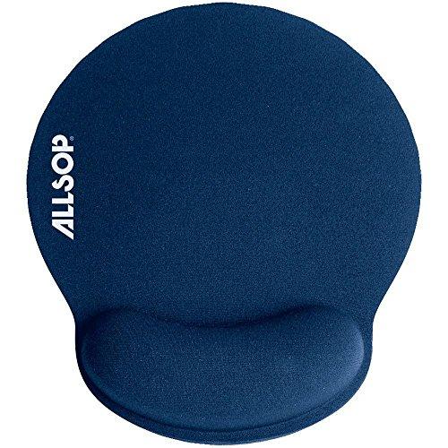 ALS30206 - Allsop BLUE MEMORY FOAM MOUSE from Allsop