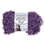 RED HEART Fur Yarn, Eggplant