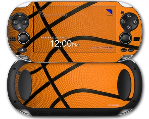 Sony PS Vita Skin Basketball by WraptorSkinz (For Basketball Vita Psp Games)
