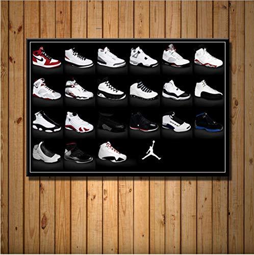 haoxinbaihuo Michael Jordan Zapatillas De Deporte Moda AJ ...