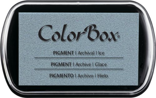 ColorBox Classic Pigment Ink Pad, Full Size, Ice by ColorBox Classic Pigment Ink