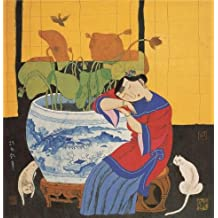 The Perfect effect Canvas of oil painting 'Hu Yongkai,Dream of Lotus,21th century' ,size: 24x25 inch / 61x63 cm ,this Amazing Art Decorative Prints on Canvas is fit for Kitchen decor and Home decoration and Gifts