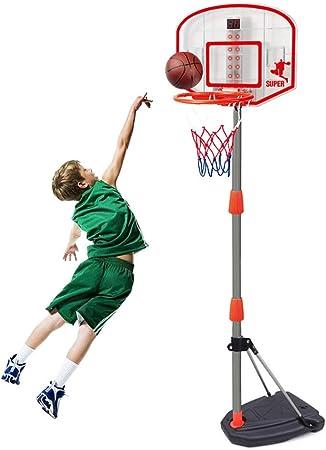 Mini mesas de billar Set De Baloncesto Para Niños Aro De Baloncesto Juguete De Baloncesto Juguete Sano Juguetes Infantiles Soporte De Baloncesto De Altura Regulable Regalo Para Niños Mini mesas de bil: