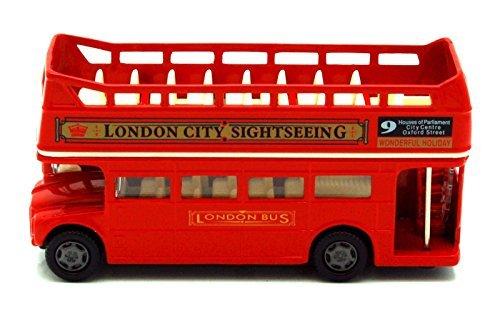British Street Scenes 12cm Richmond Toys London Open Top Bus Die-Cast (London Toy)