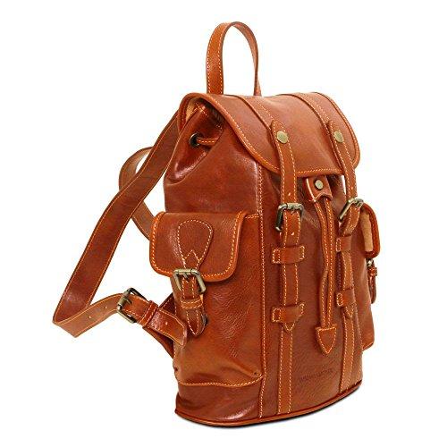 Spalla Tl141661 A Compact Donna Leather Tuscany Beige Borsa ZWBngxx