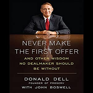 Never Make the First Offer Audiobook