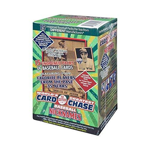 2017 Tristar Worlds Greatest Pack Chase Series 9 Baseball Nicknames Box (Green)