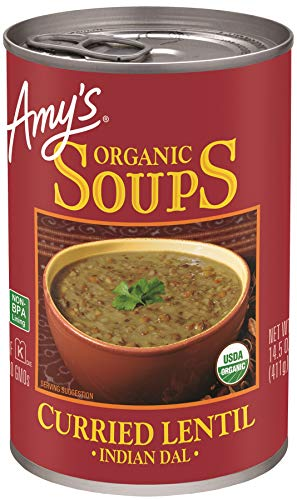 Amy#039s Organic Soups Curried Lentil 145 Ounce