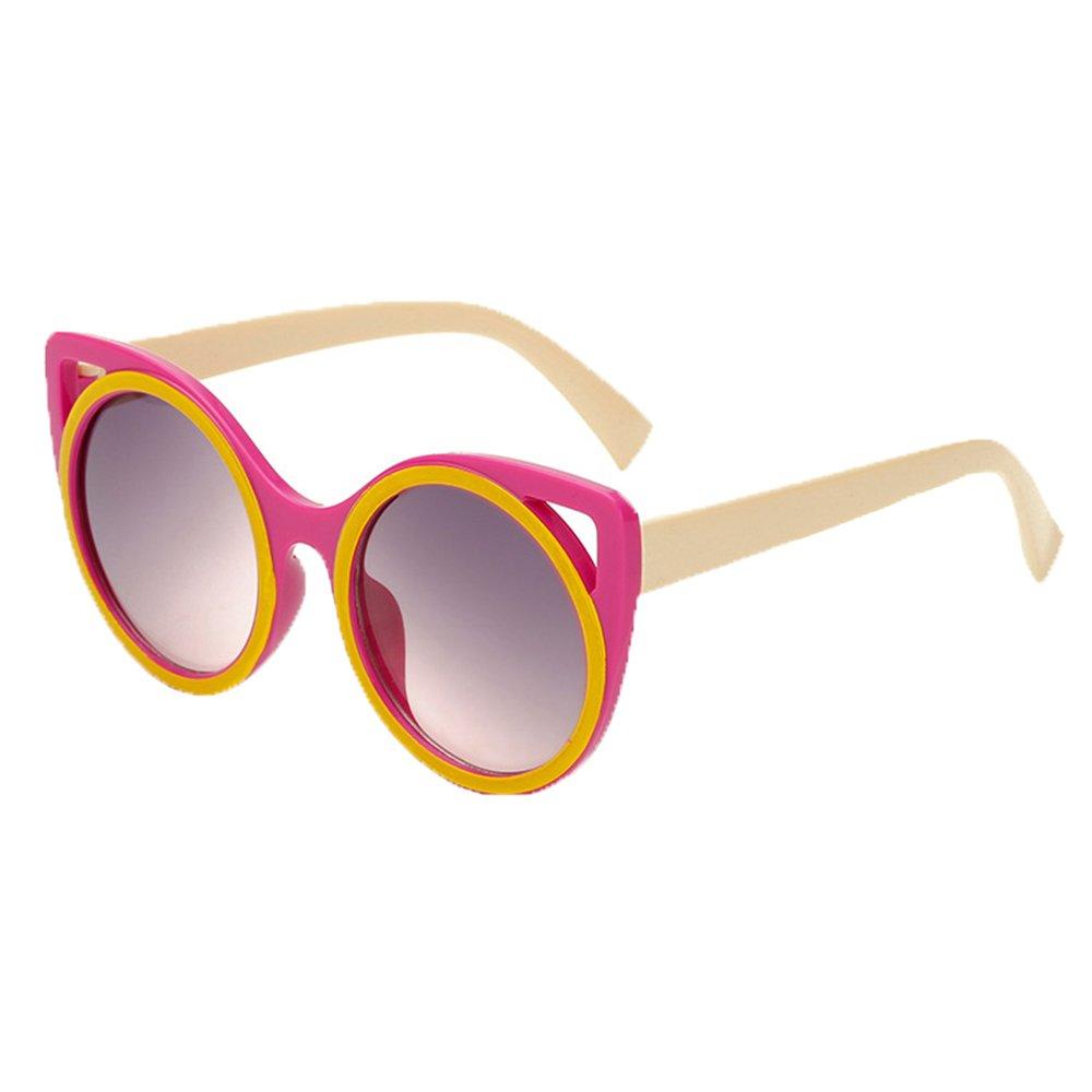 Sunglasses Baby Boys Girls PC Frame Cat Round Colorful Eyewear UV Protection-Multicolor