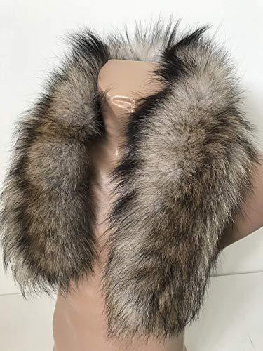 Men Collar Fur arctic fox from RizhikOva