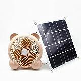 solar fan 10w 7inch Fan Powered Outdoor Home Cooling Care Garten Ventilation