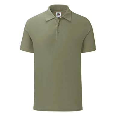 Fruit of the Loom - Polo Modelo Iconic para Hombre: Amazon.es ...