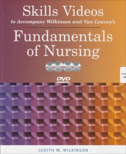 Fundamentals of Nursing Volumes 1 & 2 + Procedure Checklists for Fundamentals of Nursing + 4 DVDs Skills Videos