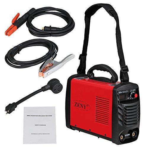 ZENY Arc Welding Machine DC Inverter Handheld Welder MMA 20-160A IGBT 110V/230V Dual Voltage IGBT Stick by ZENY (Image #2)