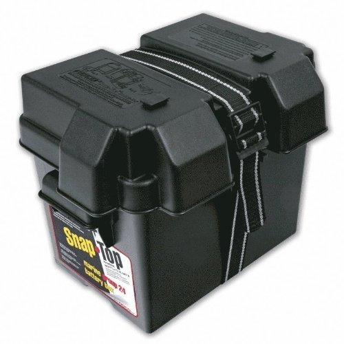 NOCO Group Snap-Top Battery Box for Automotive, Marine, and RV Batteries