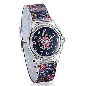 Avaner Vintage Floral Kids Children Girls Women Teen Watch Time Teacher Watch