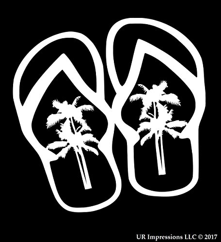 flip flop family decals - 2