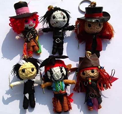 Amazon.com: Cadena Doll mundo Super 6 Johnny Depp Set Cadena ...
