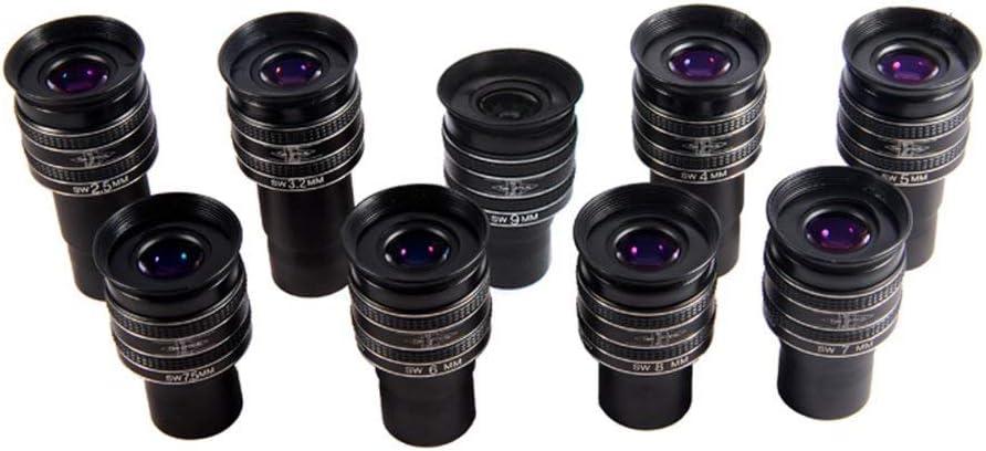 Qiterr Planetary Eyepiece 1.25-inch TMB 58-Degree 5mm HD Planetary Eyepiece for Astronomical Telescope