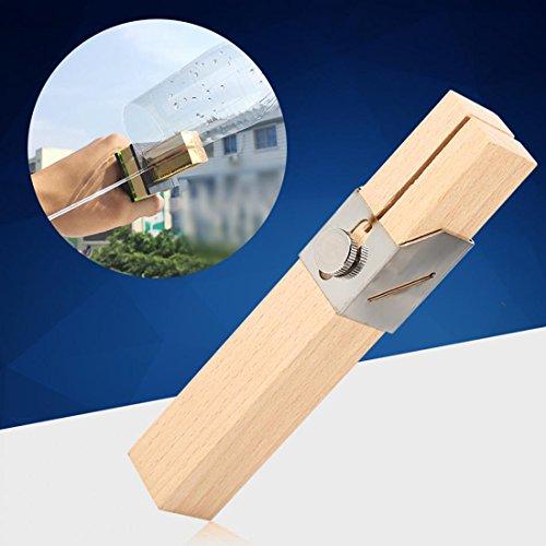 Cikuso Botella de plastico creativo del cortador exterior portatil, Botellas Smart Tools cuerda del arte de DIY Herramientas manuales de corte cuchillo ...