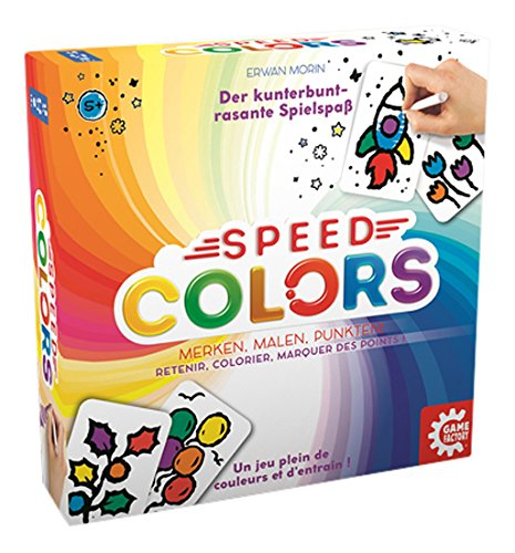 American Game Factory gamefactory 646193Speed Colors (Mult) DV Giochi