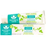 Nature's Gate Natural Toothpaste, Creme de Peppermint, 6-Ounce Tube