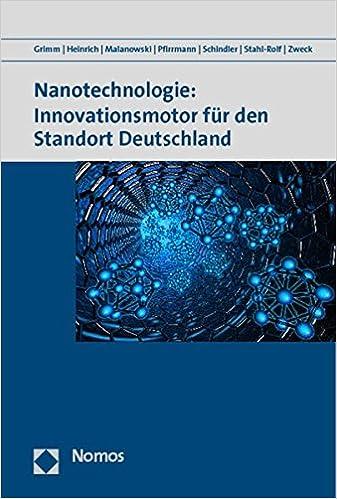 Book Nanotechnologie: Innovationsmotor Fur Den Standort Deutschland