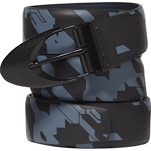 Oakley Men's Signature Ellipse Printed Belt, Black/Graphic for sale  Delivered anywhere in USA