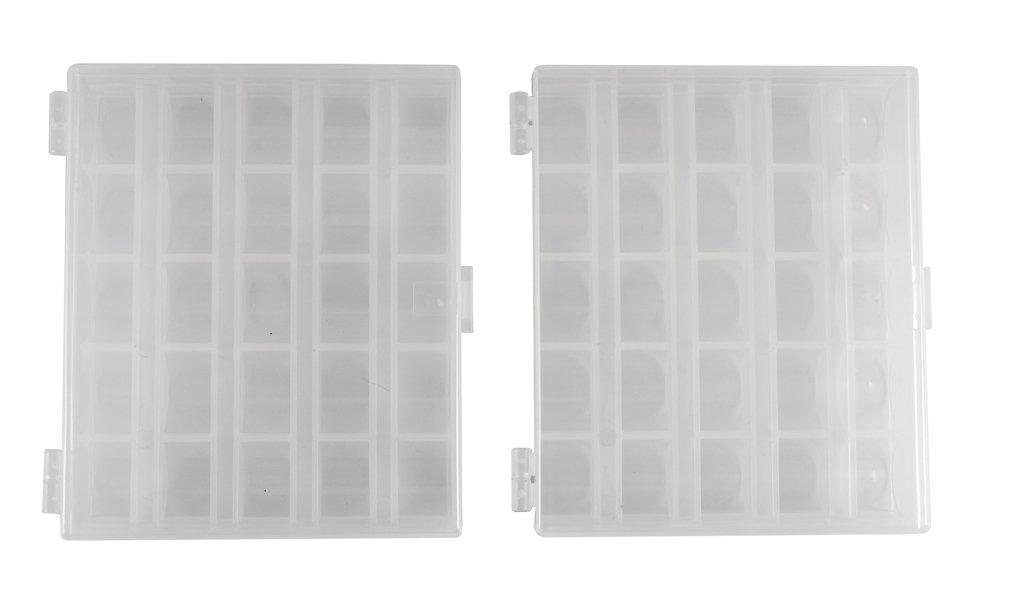 Pair of Bobbin Boxes Item 1477