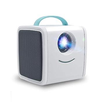 Zichen Proyector portátil, Mini proyector de cine en casa 1000 ...