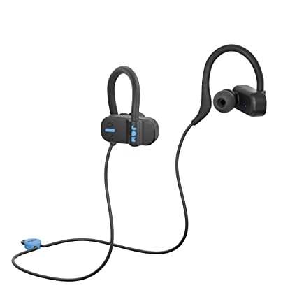 Bluetooth Range, IP67 Sweat Resistant Earbuds (3 Sizes Included), 12 Hour Battery Life, Hands-Free Calling Black: Electronics