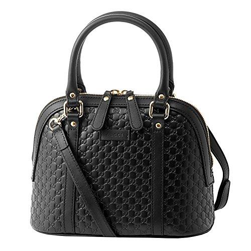Gucci microguccissima bag black leather 449654 BMJ1G 1000