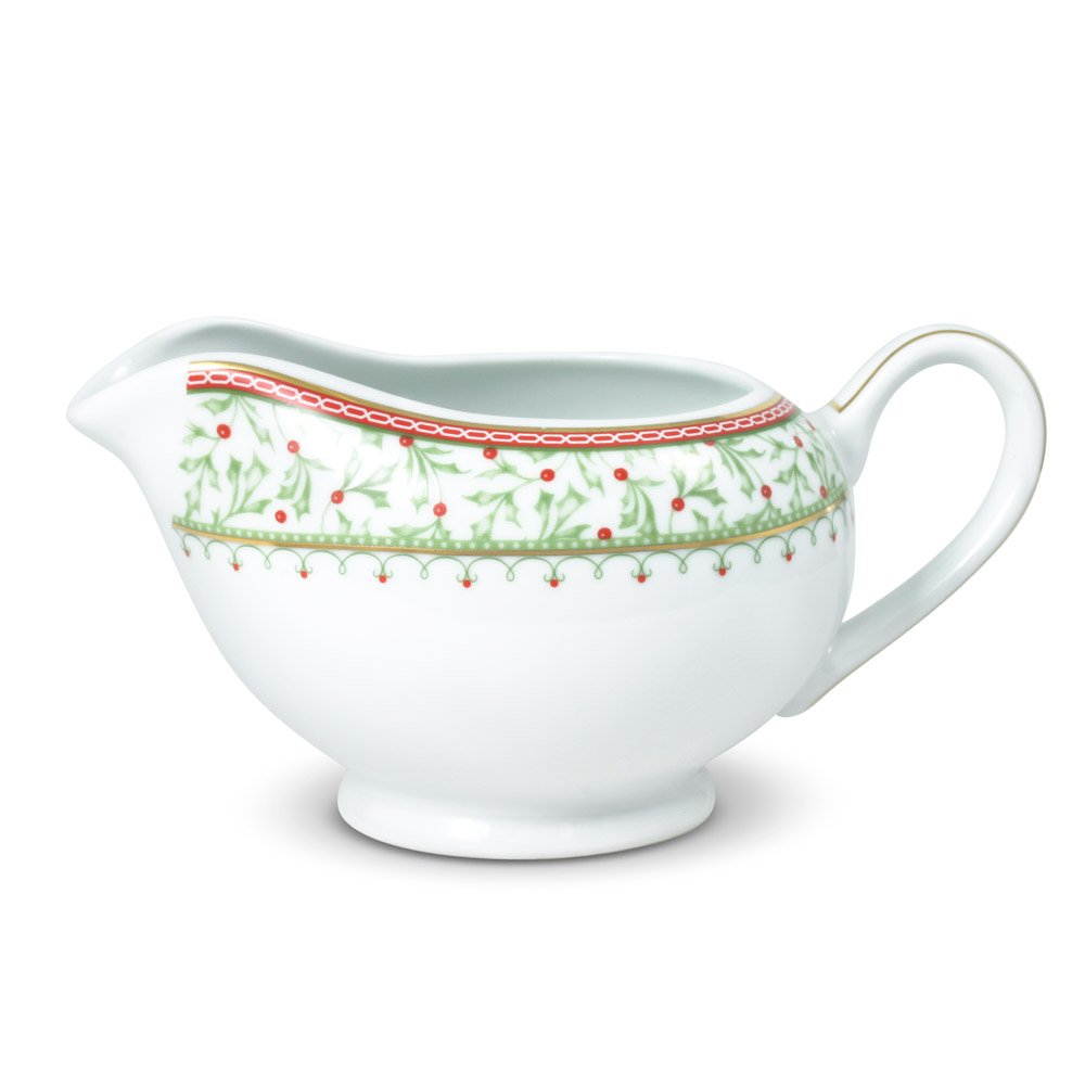 Mikasa Holiday Traditions Gravy Boat, 22-Ounce