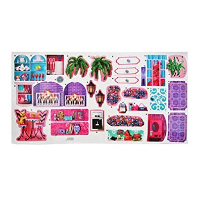 Barbie Replacement Stickers Dreamhouse Doll Dream House Playset X7949 ~ Replacement Labels 1-31: Toys & Games