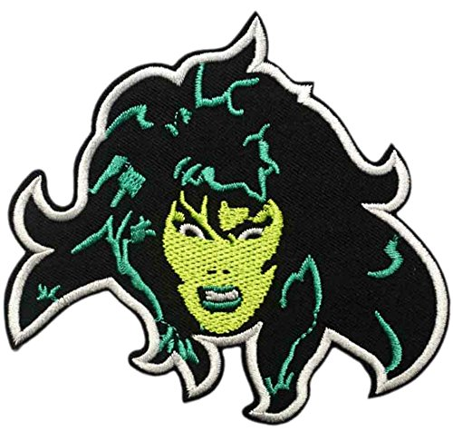 AVENGERS INIFINTY WAR Patch - HULK - SHE HULK - Superhero Comics Logo Character Theme Series 2018 New Marvel Movies Embroidered Sew/Iron on Badge DIY Appliques for $<!--$5.97-->