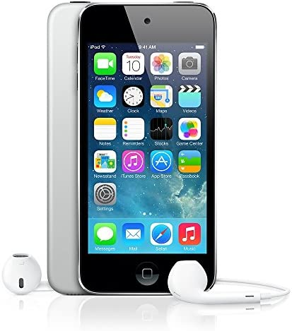 Apple iPod Touch 16GB Black/Silver(fifth Generation) (Renewed)