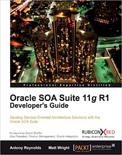 Oracle soa suite developer's guide | packt books.