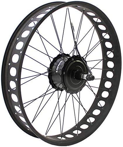 HalloMotor BAFANG 48V 750W Freehub Fat Tire Cassette Rear Wheel 190mm ebike Conversion Kit