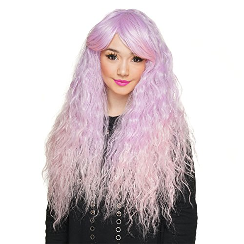 Gothic Lolita Wigs Rhapsody Collection - Lavender to Pink Fade -00107