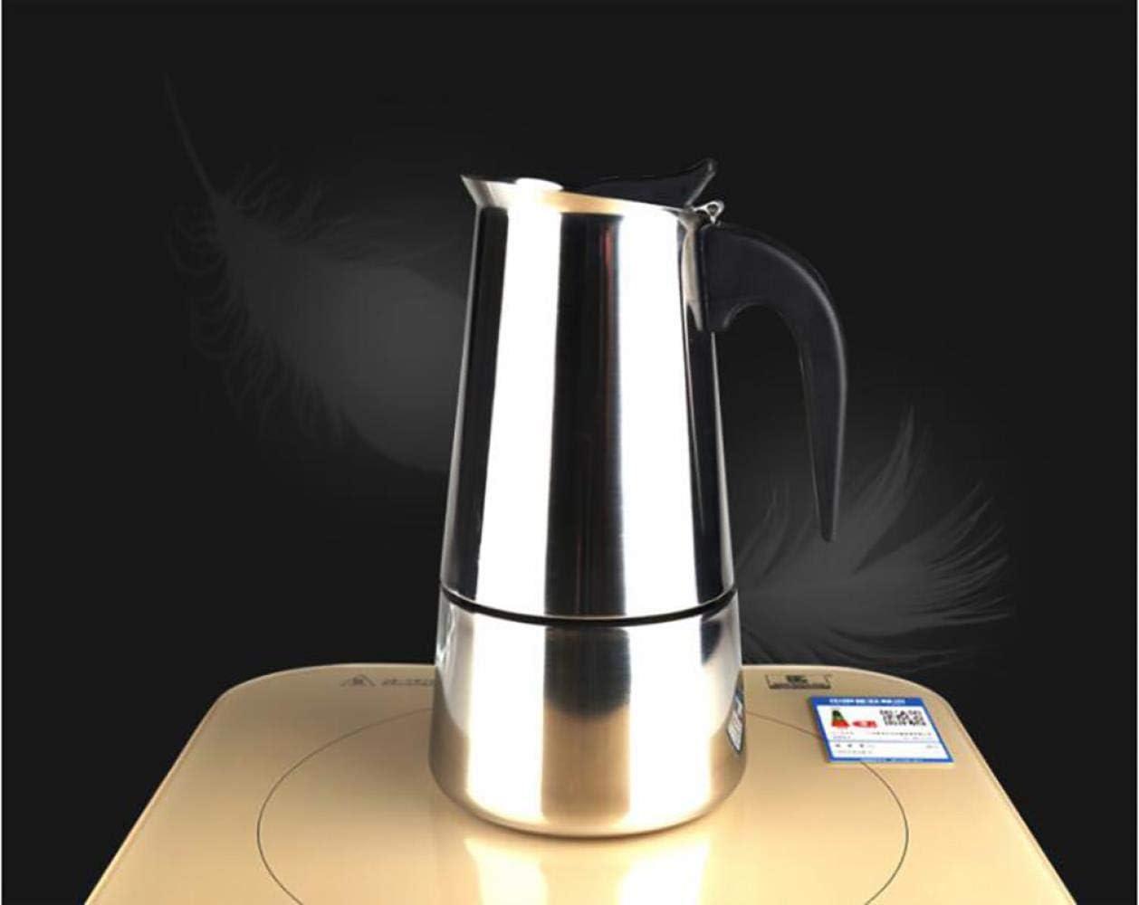 Cafetera espresso italiana de acero inoxidable 304, olla Moka ...