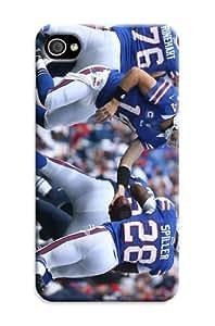Iphone 6 Plus Protective Case,3D Sport PC Football Iphone 6 Plus Case/Buffalo Bills Designed Iphone 6 Plus Hard Case/Nfl Hard Case Cover Skin for Iphone 6 Plus