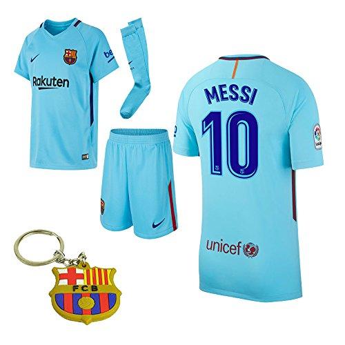the best attitude 50636 a49d3 Barcelona 2017 2018 17 18 L. Messi AwayKid Jersey Kit ...